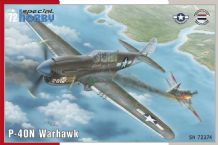 Special Hobby 1/72 Model Kit 72374 Curtiss P-40N Warhawk
